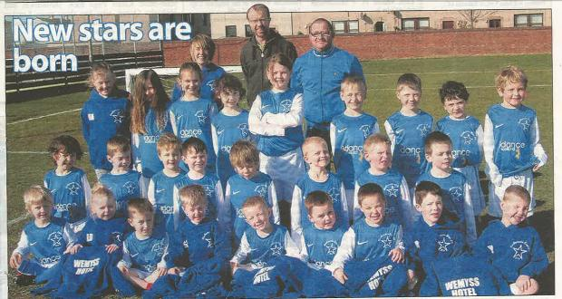 Acitve School Mini Kickers get New Strips