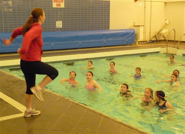 Girls on the Go: Aqua Aerobics @ Loch Centre