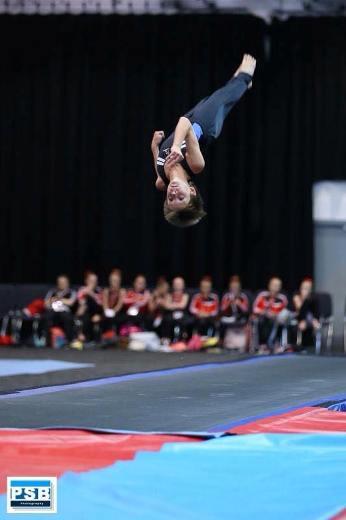Active East Lothian Saltire Team Gymnastics