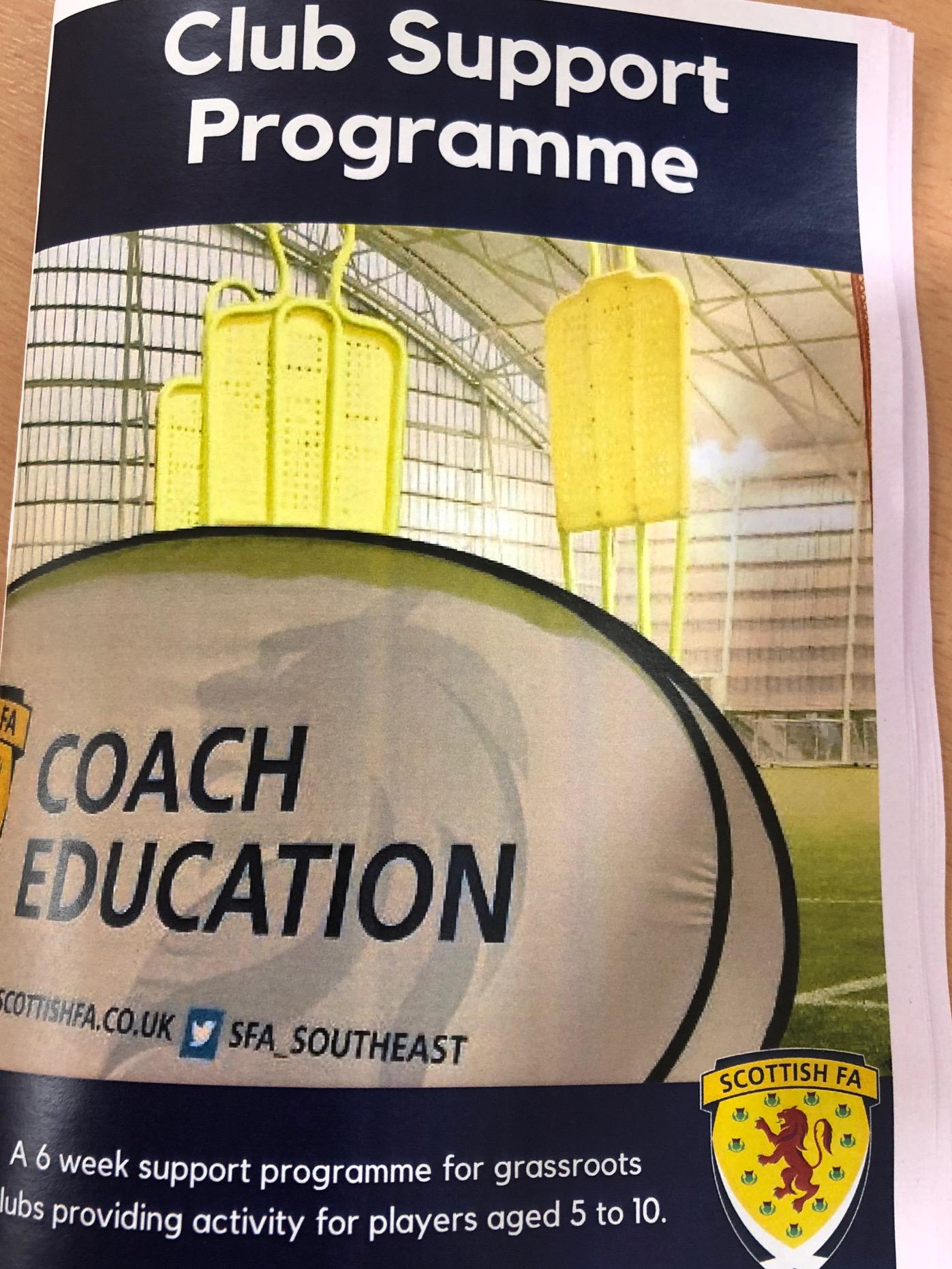 Active East Lothian | Club Support For Beginner Coaches