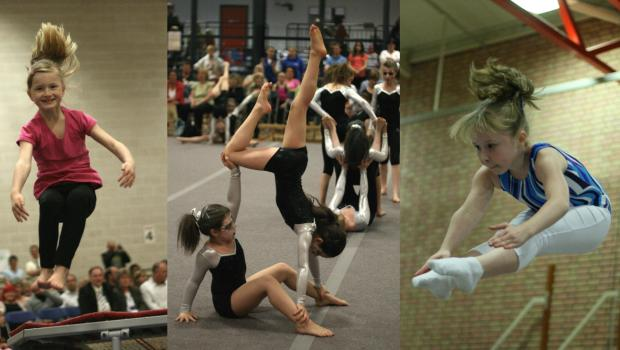 Gymnastics and Trampoling Showcase 2012