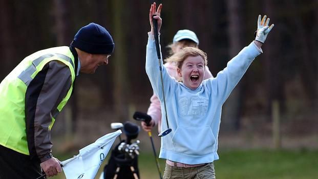 Golf Celebrations at East Lothian Junior Team Chamionship at Craigielaw Golf Club