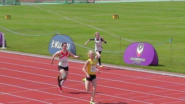 Maria Lyle at Loughborough International