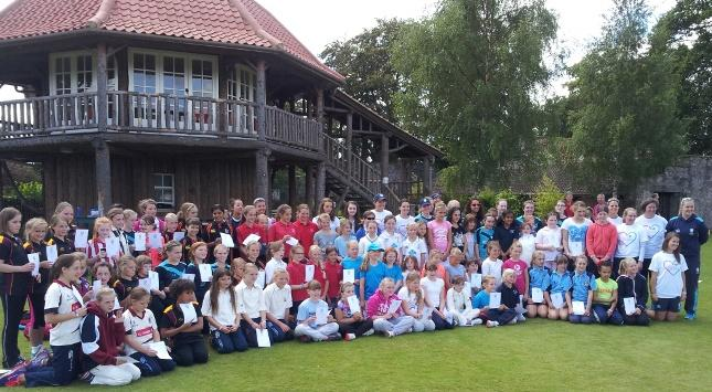 National Girls Kwik Cricket Festival 2014 Perth