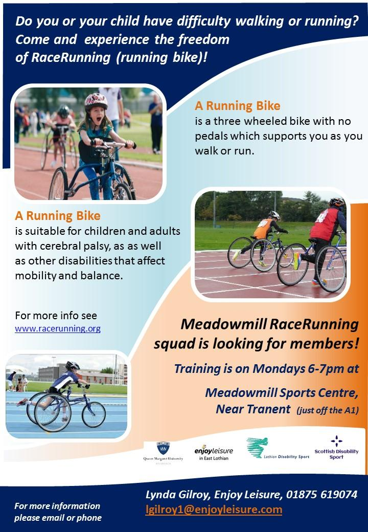 Meadowmill Race Running