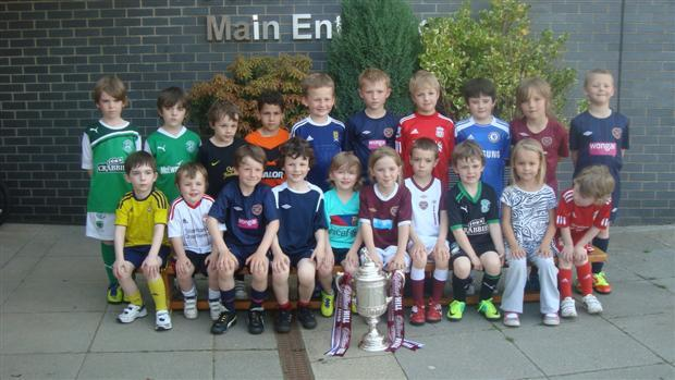 Scottish Cup Visits Windygoul Soccer School