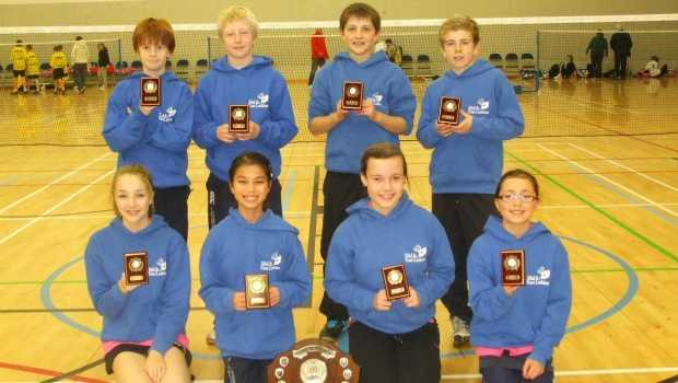 Preston Lodge Badminton Schools Champs