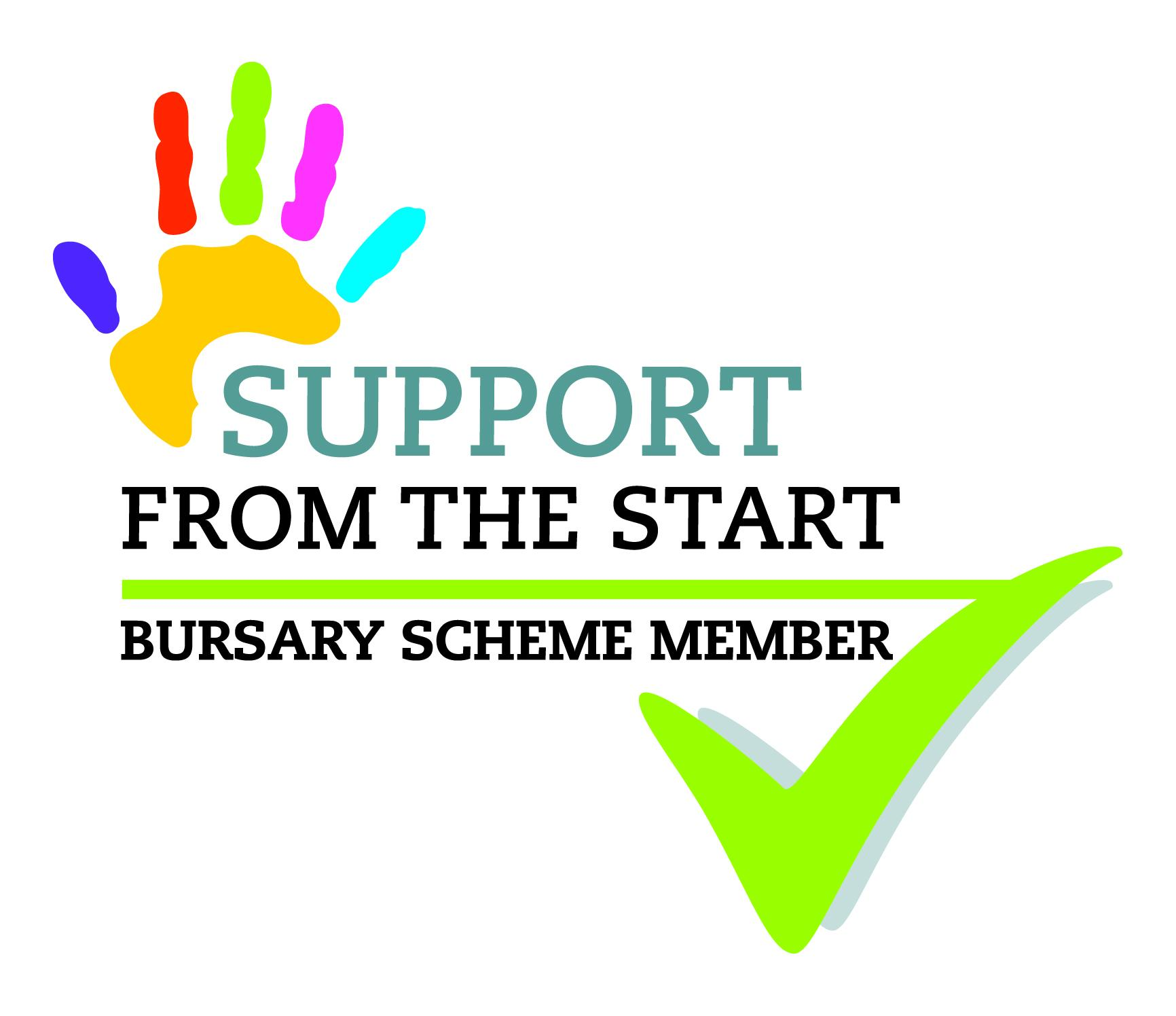 Support from the Start Bursary Logo