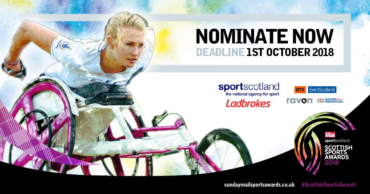 Sunday Mail sportscotland Scottish Sports Awards 2018