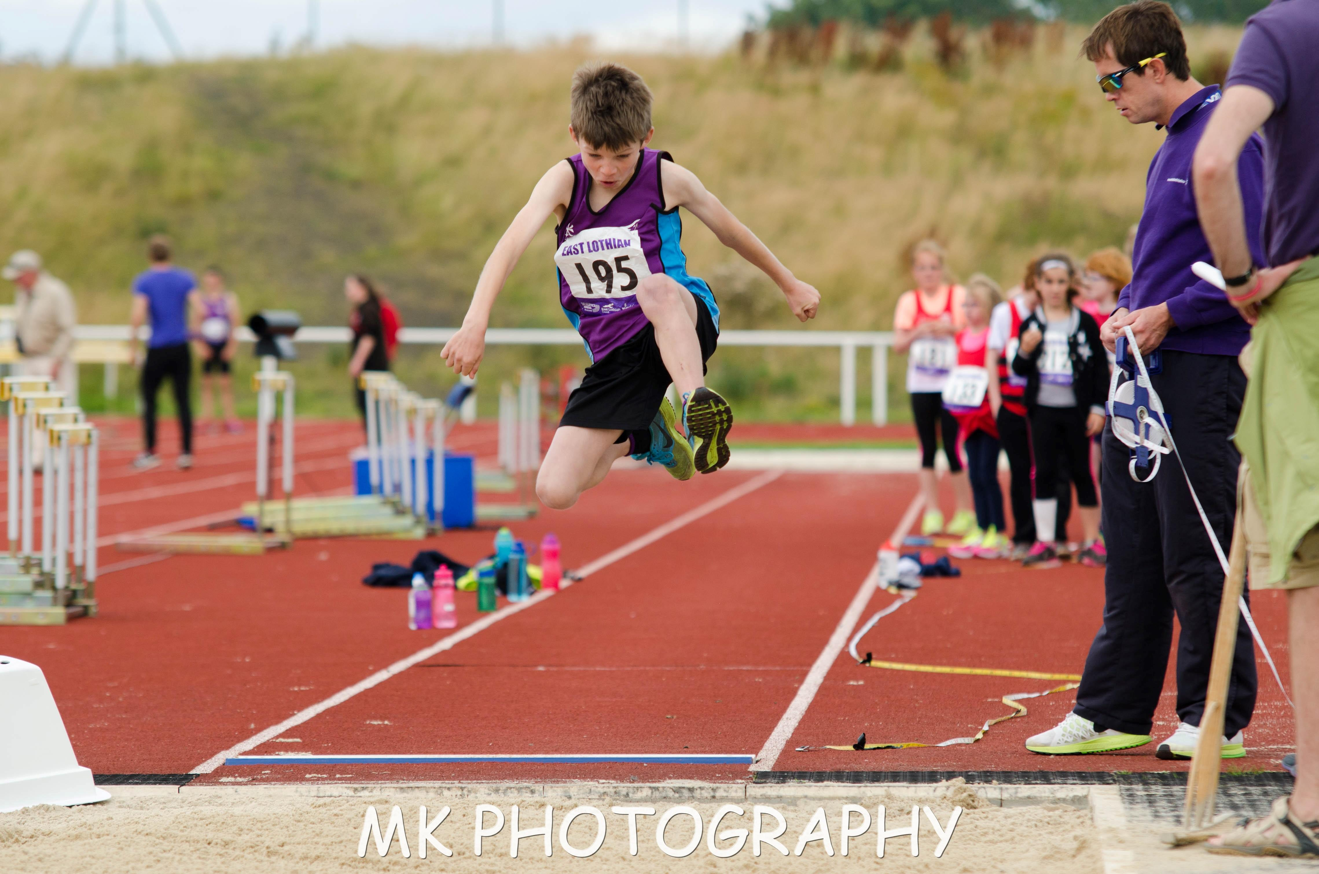 Athletics East Lothian Image - long jump