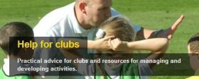 Help for Clubs Website