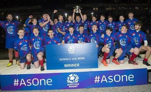 Ross High U18's Crowned National Bowl Champions at Murrayfield